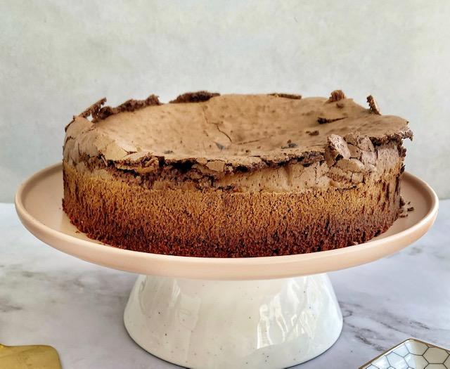 עוגת סופלה שוקולד – ללא קמח